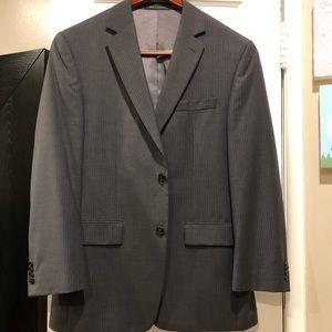 Gray Michael Kors pinstripe suit